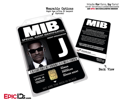 Special Agent 'MIB - Men In Black' Cosplay Name Badge [Movie Characters]