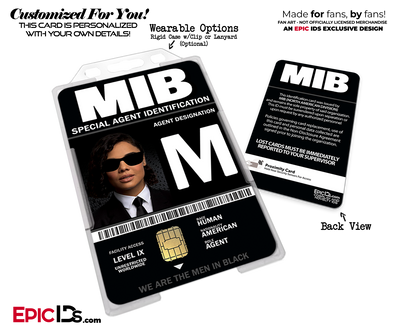 Special Agent 'MIB - Men In Black International' Cosplay Name Badge [Movie Characters]