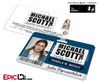 The Office Inspired - Michael Scott Paper Company Employee ID - Pam Beesly