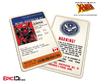 Mutant Registration Act 'X-Men' Classic Comic Identification Card - Wade Wilson / Deadpool
