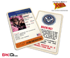 Mutant Registration Act 'X-Men' Classic Comic Identification Card - Remy Lebeau / Gambit