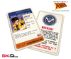 Mutant Registration Act 'X-Men' Classic Comic Identification Card - Jubilation Lee / Jubilee