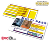 The Fifth Element Inspired Korben Dallas Multi Pass Card