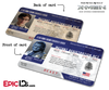 Mutant Registration Act 'X-Men' Identification Card - Henry McCoy / Beast
