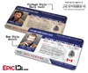 Mutant Registration Act 'X-Men' Identification Card - James Howlett 'Logan' / Wolverine