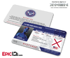 Mutant Registration Act 'X-Men' Identification Card - Raven Darkholme / Mystique
