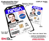 Custom Order [Haywood] - NASA ID Card - Jonah Baird