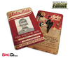 Nuka-Cola Corporation 'Fallout' Cosplay Employee ID Badge [Photo Personalized]