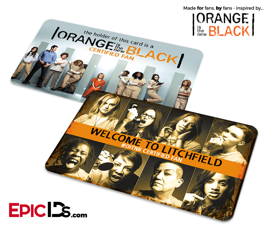 Orange is the New Black Inspired Fan Card - Welcome To Litchfield