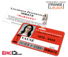 Litchfield Penitentiary 'OITNB' Inmate Wearable ID Badge - Vause, Alex