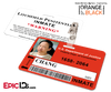 Litchfield Penitentiary 'OITNB' Inmate Wearable ID Badge - Chang, Mei