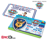 PAW Patrol Inspired Adventure Bay PAW Patrol ID Card - Chase