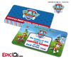 PAW Patrol Inspired Adventure Bay PAW Patrol ID Card