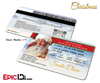 Santa Claus Official Sleigh License [Photo Personalized]