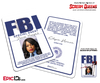 Special Agent 'Scream Queens' Cosplay ID Badge - Denise Hemphill