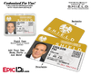 Agents of SHIELD Inspired Classic SHIELD Agent ID - [Photo Personalized]
