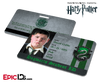 Harry Potter Inspired Hogwarts Student ID (Slytherin) - Vincent Crabbe
