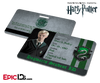 Harry Potter Inspired Hogwarts Student ID (Slytherin) - Draco Malfoy
