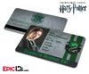 Harry Potter Inspired Hogwarts Student ID (Slytherin) - Pansy Parkinson