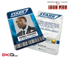 Iron Man / Avengers Inspired Stark Industries Employee ID - James Rhodes