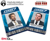 Iron Man / Avengers Inspired Stark Industries Name Badge Employee ID [Couples Cosplay]