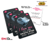 Pocket Sized Premium Star Wars 'Dark Side' Custom Valentines Day Card Pack