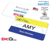 Employee Name Badge 'Superstore' Wearable ID - Amy
