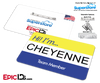 Employee Name Badge 'Superstore' Wearable ID - Cheyenne