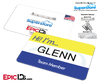 Employee Name Badge 'Superstore' Wearable ID - Glenn
