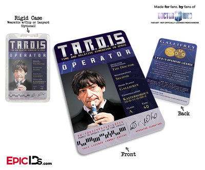 TARDIS 'Doctor Who' Operator License - (02) The Second Doctor