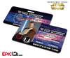 Star Wars Inspired - Galactic Alliance - Obi-Wan Kenobi Identification Card