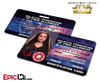 Star Wars Inspired - Galactic Alliance - Padme Amidala Identification Card