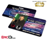 Star Wars Inspired - Galactic Alliance - Qui-Gon Jinn Identification Card