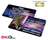 Star Wars Inspired - Galactic Alliance - Mace Windu Identification Card
