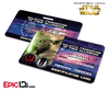 Star Wars Inspired - Galactic Alliance - Master Yoda Identification Card