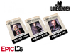 The X-Files / The Lone Gunmen Inspired TLG Newsletter Press Pass Collection (3-Pack)