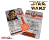 Star Wars TFA Inspired - The Resistance - Chewbacca Identification Card / Badge