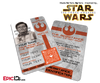 Star Wars TFA Inspired The Resistance Identification Badge [Photo Personalized]