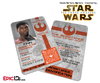 Star Wars TFA Inspired - The Resistance - FINN (FN-2187) Identification Card / Badge