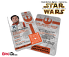 Star Wars TFA Inspired - The Resistance - Poe Dameron Identification Card / Badge