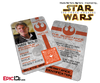 Star Wars TFA Inspired - The Resistance - Han Solo Identification Card / Badge