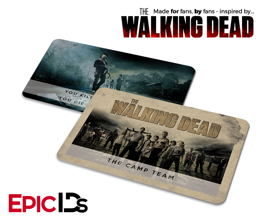 "The Walking Dead Season 1 ""Camp Group"" Collectible Card"