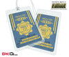 Vault Dweller 'Fallout' Double-Sided Bag Tag [Personalized]