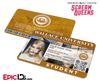Scream Queens Inspired Wallace University Student ID [Photo Personalized]