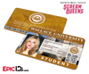 Scream Queens Inspired Wallace University Student ID - Grace Gardner