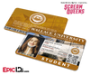 Scream Queens Inspired Wallace University Student ID - Hester Ulrich