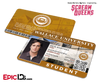 Scream Queens Inspired Wallace University Student ID - Pete Martinez