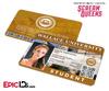 Scream Queens Inspired Wallace University Student ID - Sadie Swenson