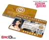 Scream Queens Inspired Wallace University Student ID - Sonya Herfmann