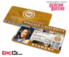 Scream Queens Inspired Wallace University Student ID - Zayday Williams